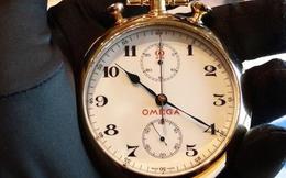 """Omega - """"trọng tài thời gian"""" tuyệt đối cho Olympics"""