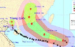 """Bão số 7 """"hạ nhiệt"""", siêu bão Haima tiến vào Biển Đông"""