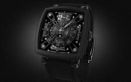 Đồng hồ hàng hiệu siêu đắt được làm từ vật liệu không thể đen hơn