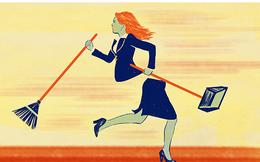 """Phụ nữ khó thăng tiến là do các ông chồng bày thêm """"việc không lương""""?"""