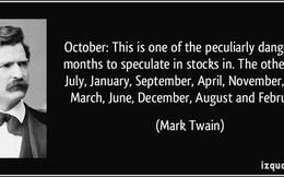 Bài học từ thất bại thê thảm của nhà văn Mark Twain trên thị trường chứng khoán