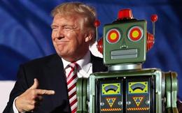 Robot là lý do khiến lời hứa tạo hàng triệu việc làm cho dân Mỹ của Donald Trump 'bay theo gió'