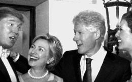 """""""Trò chơi vương quyền"""" khoác áo tình bạn giữa Donald Trump và Hillary Clinton"""
