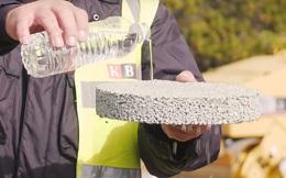 Nhựa đường hút được cả nước - phát minh đột phá để bảo vệ tài nguyên thiên nhiên
