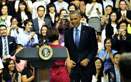 Tổng thống Obama: Đừng lo phải làm giàu thế nào, thành công chỉ đến khi bạn làm việc tận tâm