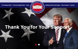 Donald Trump nói là làm, mở ngay trang 'Make America Great Again' sau khi đắc cử Tổng thống Mỹ
