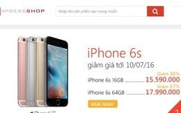 Báo VnExpress bất ngờ mở cửa hàng, bán iPhone 6S rẻ hơn Thế Giới Di Động