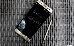 So sánh thời lượng sử dụng pin của Galaxy Note7: bản dùng chip Qualcomm còn thua cả người tiền nhiệm Note 5