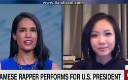 Clip: Suboi trả lời phỏng vấn trực tiếp với CNN về việc rap tiếng Việt cho Tổng thống Obama
