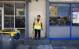Người phụ nữ Việt này chỉ là lao công trên đường phố Mỹ, nhưng bất kỳ ai cũng phải kính phục khi nói chuyện với bà