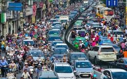 Những hình ảnh tắc đường kinh hoàng ở Thủ đô Hà Nội