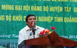 Yêu cầu Bí thư Huyện Tây Giang giải trình đào đường hầm xuyên núi