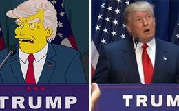"""16 năm trước, phim hoạt hình """"Gia đình Simpson"""" đã tiên đoán ông Trump sẽ trở thành Tổng thống Mỹ"""