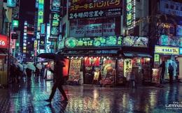 Chùm ảnh đầy mê hoặc: Tokyo về đêm