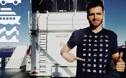 Với chiếc áo này, bạn có thể tự tin du lịch khắp thế giới mà không cần biết tiếng bản địa