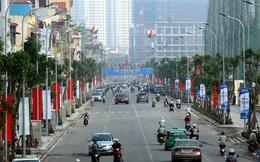 Hình ảnh tuyến đường kiểu mẫu đầu tiên, đẹp nhất Hà Nội