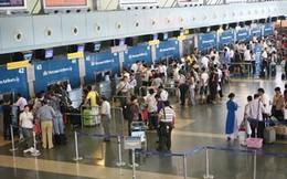 Hệ thống làm thủ tục sân bay Nội Bài gián đoạn do mất điện