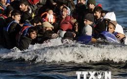 2015 - năm bi thương nhất của người di cư vượt Địa Trung Hải