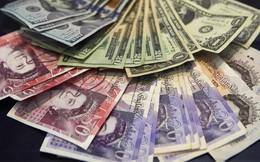 Đồng Bảng Anh giảm 10% chỉ trong vài phút xuống mức thấp nhất 31 năm