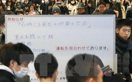 [Photo] Cuộc sống của người dân Nhật Bản sau trận động đất
