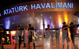 Đánh bom đẫm máu tại sân bay Thổ Nhĩ Kỳ, gần 30 người chết