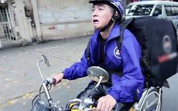Trong khi người bán hàng rong ở nước ngoài cũng chuộng thanh toán qua thẻ thì các công ty lớn ở Việt Nam vẫn thuê xe ôm đi ship hàng