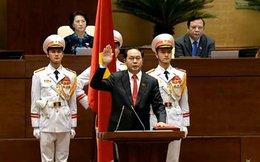 Tân Chủ tịch nước hứa kiên quyết đấu tranh bảo vệ chủ quyền