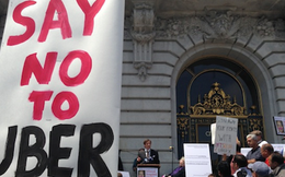 Tài xế Uber biểu tình phản đối chính Uber ngay tại New York
