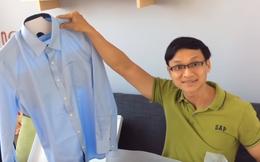 """Làm thế nào cặp vợ chồng người Việt may được áo sơ mi """"vừa như in"""" cho bất cứ ai chỉ với 1 click?"""