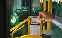 """Người dân Hà Nội đi xe buýt sắp được """"quẹt thẻ"""""""