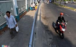 Người đi bộ Sài Gòn thênh thang trên vỉa hè riêng