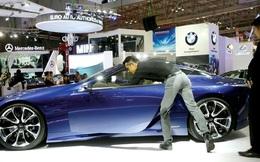 """Thuế tăng, ngành ô tô vẫn """"hút"""" giới đầu tư ngoại"""
