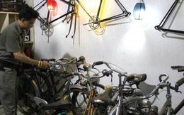 """Chuyện sưu tầm xe đạp cổ """"khủng"""" của chàng HDV du lịch người Huế"""