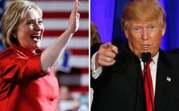 Siêu thứ ba: Clinton, Trump liên tiếp thắng ở các bang