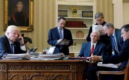 Trump lúng túng trong cuộc gọi đầu tiên với Putin