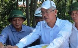 Đoàn công tác của Quốc hội thị sát hiện trường dự án cao tốc Bắc- Nam