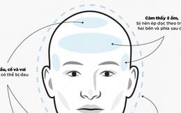 [Infographic] Nhìn vị trí, tự giúp mình và mọi người phân biệt 3 loại đau đầu phổ biến