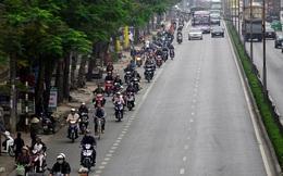 Văn minh đâu ở xa: Trong khi người Hà Nội tìm mọi cách giành từng tấc đường thì người Hải Phòng chạy xe đúng làn bất kể có CSGT hay không