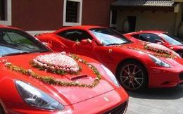 Choáng với độ chịu chi của giới siêu giàu Trung Quốc: Mua 3 máy bay mời khách đến dự đám cưới, sắm piano bằng vàng