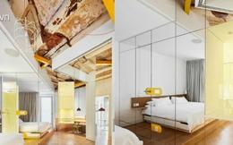 Được thay cửa và tường bằng gương, căn nhà cũ thay đổi không ngờ