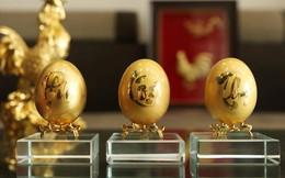 Quà tết độc của một doanh nghiệp Hà Nội: Bộ trứng được làm từ 30 cây vàng nguyên khối