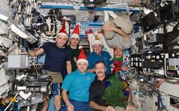 Hình ảnh đón Giáng Sinh trên trạm vũ trụ ISS