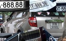 Đang nghiên cứu đấu giá biển số xe
