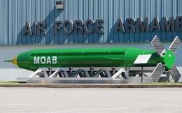 Mỹ vừa ném quả bom phi hạt nhân lớn nhất từ trước đến nay vào Afghanistan