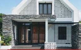 """Đẹp """"rụng rời"""" với căn nhà một tầng có gác lửng ở Quảng Bình"""