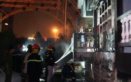 Clip: Cháy lớn tại trạm bơm xăng dầu ở Đà Nẵng