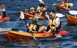 """Được bình chọn là điểm đến lý tưởng cho hoạt động chèo thuyền kayak, tại sao Hạ Long lại cắt """"cần câu cơm"""" của doanh nghiệp?"""