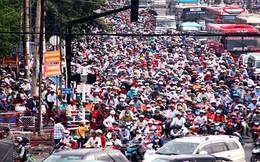 Mỗi ngày người dân Sài Gòn mất gần 1 tiếng đồng hồ vì tắc đường