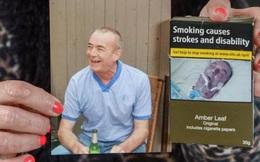 Con gái sốc khi thấy ảnh người cha quá cố trên bao bì thuốc lá