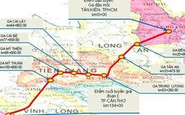 Khởi động tuyến đường sắt 3,6 tỷ USD nối TP.HCM -Cần Thơ